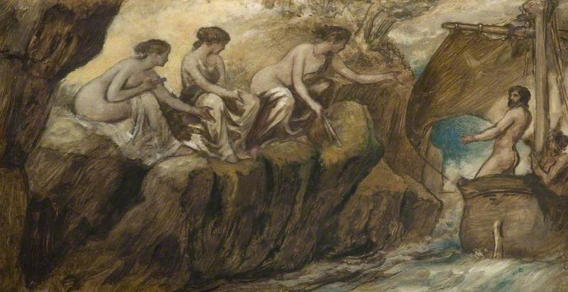 Calvert, Edward; Ulysses and the Sirens; Birmingham Museums Trust; http://www.artuk.org/artworks/ulysses-and-the-sirens-33469
